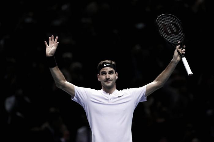 Federer se asegura un puesto en semifinales