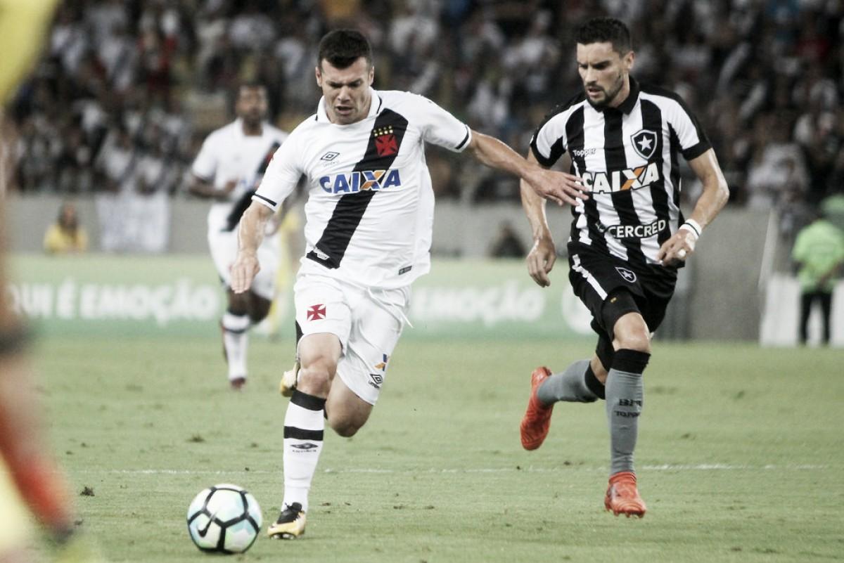 Botafogo e Vasco tentam primeira vitória em clássico no ano de 2018