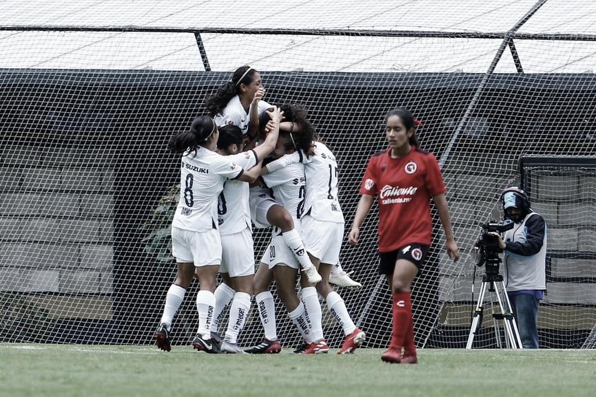 Pumas debuta con triunfo ante Xolos Femenil