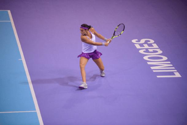 WTA Limoges Quarterfinals Recap: Garcia Last Seed Left, Siniakova, Chirico And Schiavone Advance To Semifinals