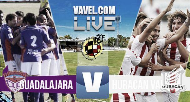 Resultado Guadalajara - Huracán Valencia en Playoffs Segunda B 2015 (0-0)