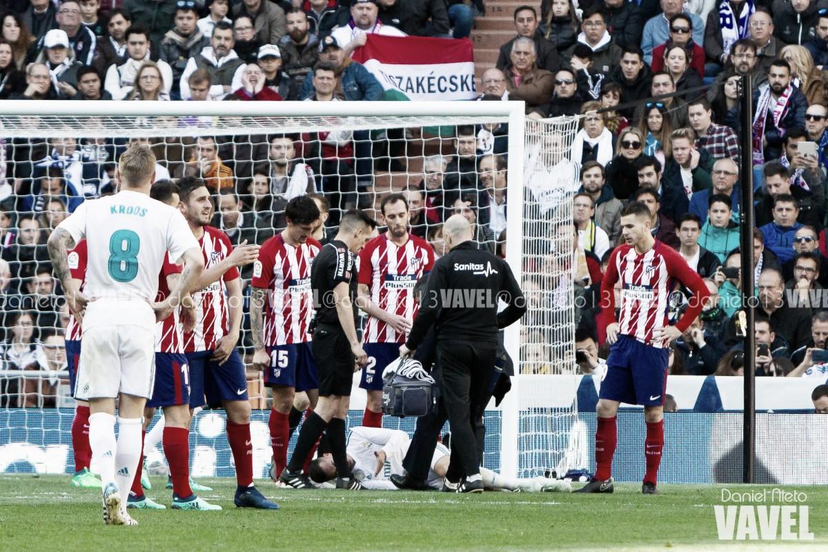 El Atlético, sin ideas para sacar el balón