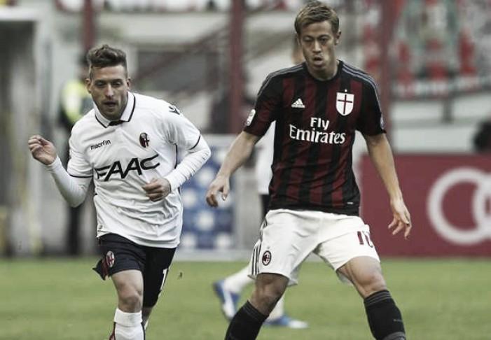 Risultato finale Bologna - Milan in Serie A 2016 (0-1): Ci pensa il solito Bacca, i rossoneri tornano al sesto posto