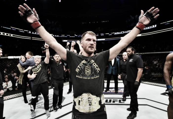 Stipe Miocic e Daniel Cormier se enfrentarão pelo cinturão dos pesados no UFC 226