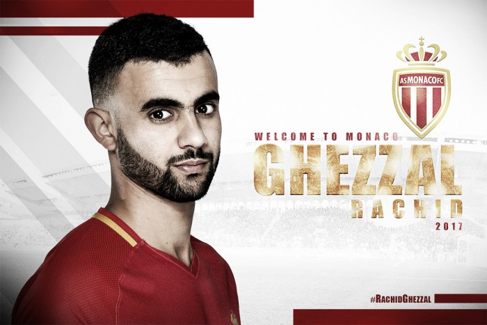 Monaco acerta contratação do meia Rachid Ghezzal, ex-Lyon