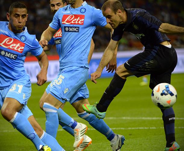 Diretta Inter - Napoli in Serie A