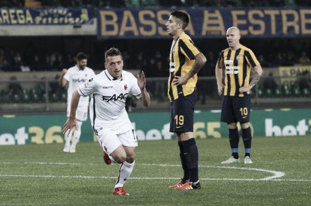 Bologna rigenerato, Verona sempre più in crisi: 0-2 interno contro i rossoblù
