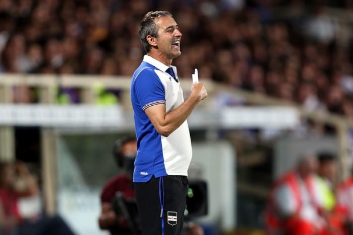 """Sampdoria, Giampaolo nel post Fiorentina: """"Non ci siamo mai disuniti"""""""