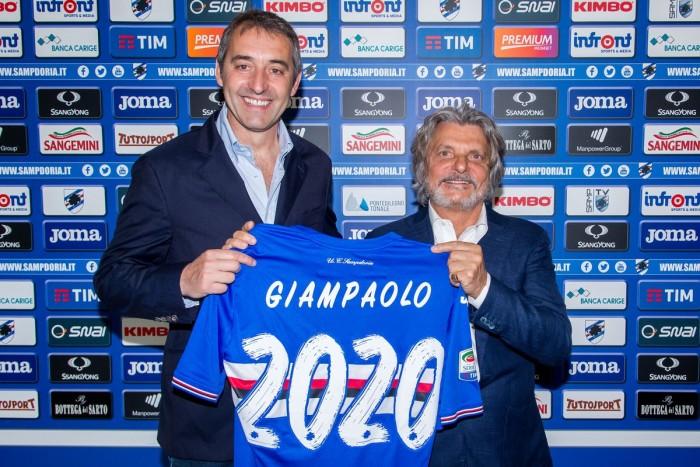 Sampdoria - E' fatta per Giampaolo, rinnovo fino al 2020