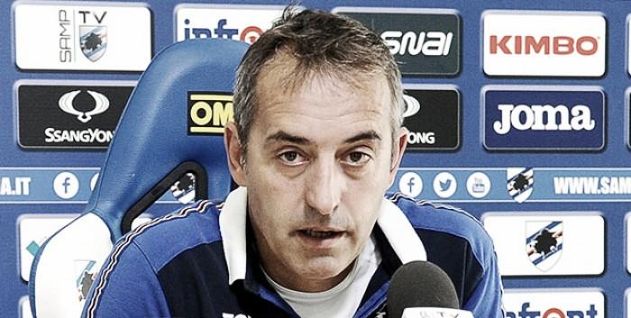 """Sampdoria, Giampaolo: """"Contro il Crotone ci giochiamo la credibilità"""""""