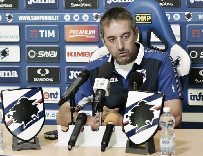 """Sampdoria, Giampaolo: """"Chievo ostico, senza attenzione siamo una squadra qualunque"""""""