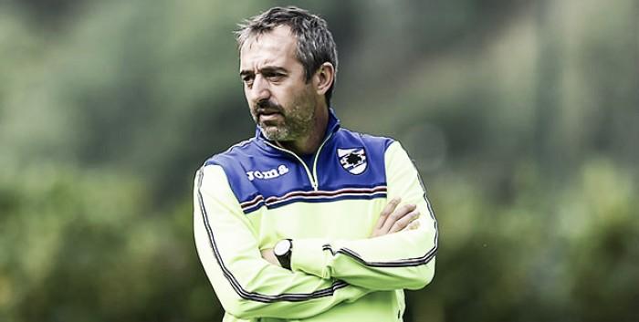 """Sampdoria, Giampaolo avvisa: """"Con il Pescara non possiamo sbagliare la partita"""""""