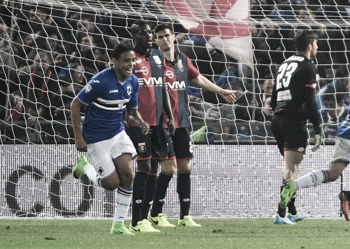 Samp, è festa! Muriel si prende il derby sul Genoa. Le parole di Giampaolo
