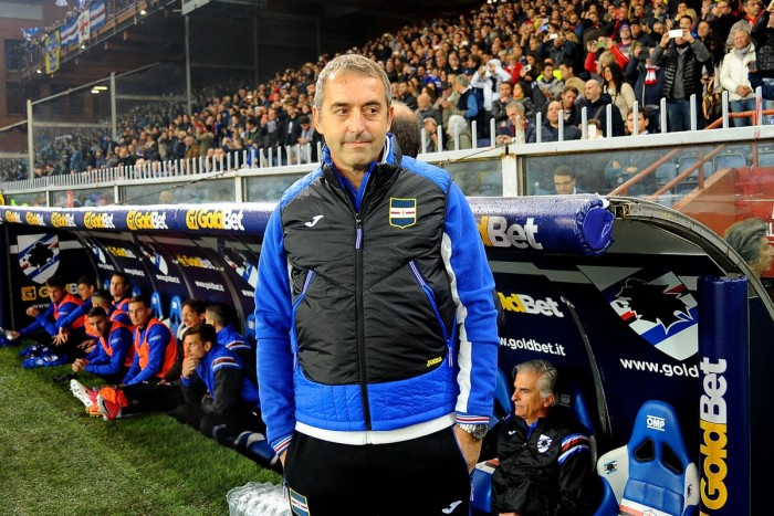"""Sampdoria, Giampaolo: """"Dobbiamo tornare a divertirci, Fiorentina squadra in salute"""""""