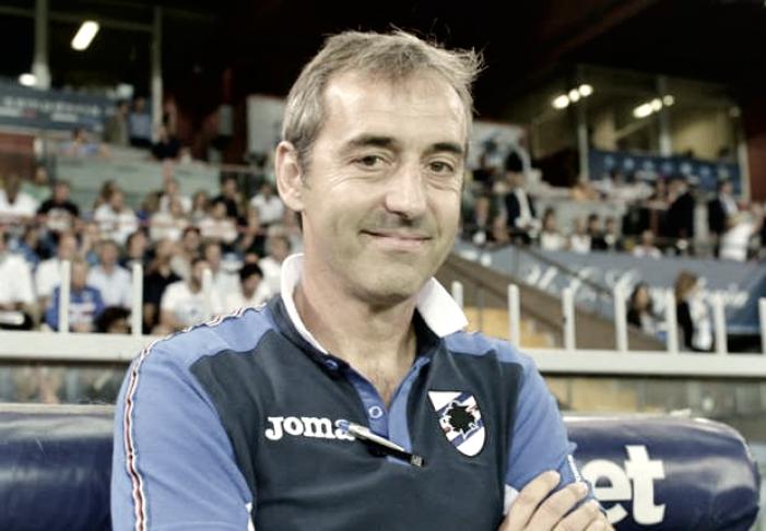 """Sampdoria, Giampaolo: """"Gran bella stagione, voglio far punti con il Napoli"""""""
