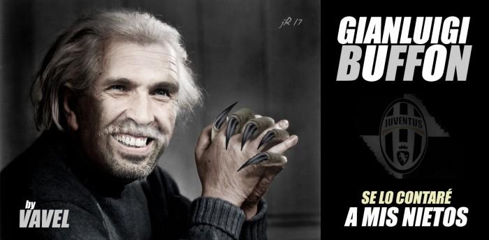 Buffon, el cancerbero de Carrara
