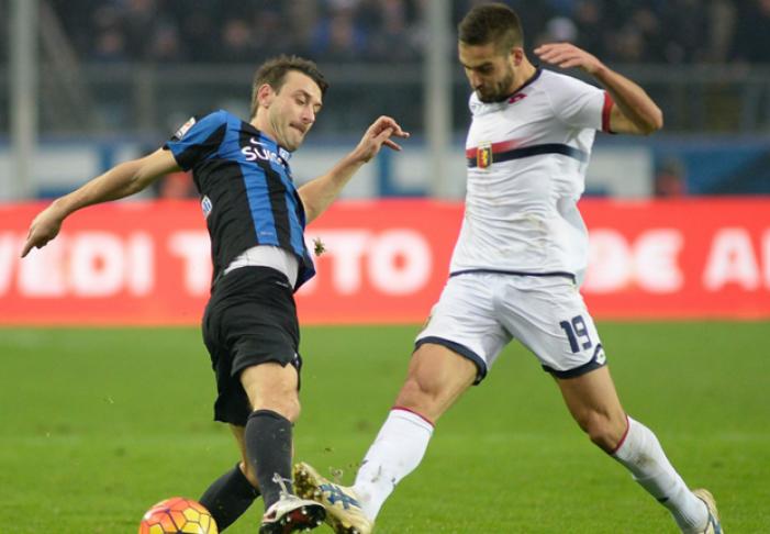 Colpaccio Genoa: battuta 0-2 l'Atalanta
