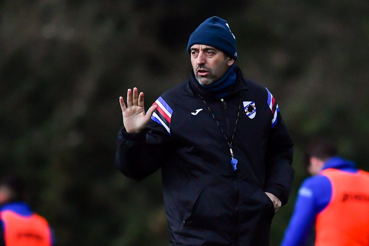 Sampdoria: le parole di Marco Giampaolo in conferenza stampa