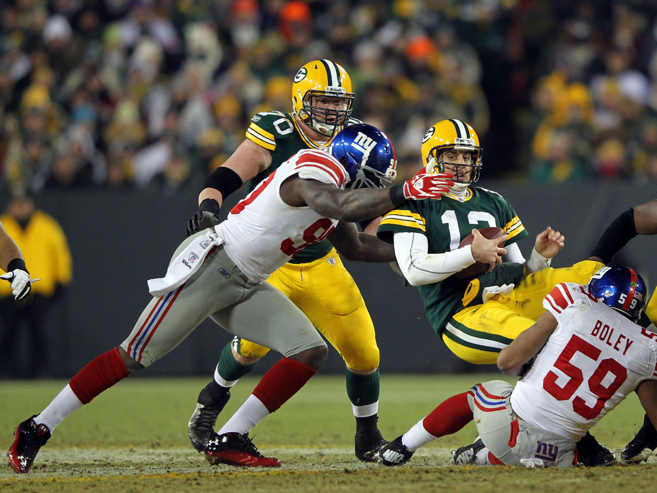 Green Bay Packers at New York Giants: Packers looking to bounce back after rude awakening