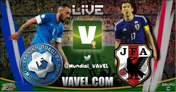 LIVE Giappone - Grecia, Mondiali Brasile 2014 in diretta