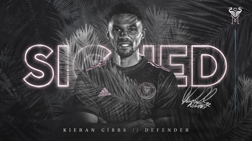 Kieran Gibbs firma por Inter Miami CF