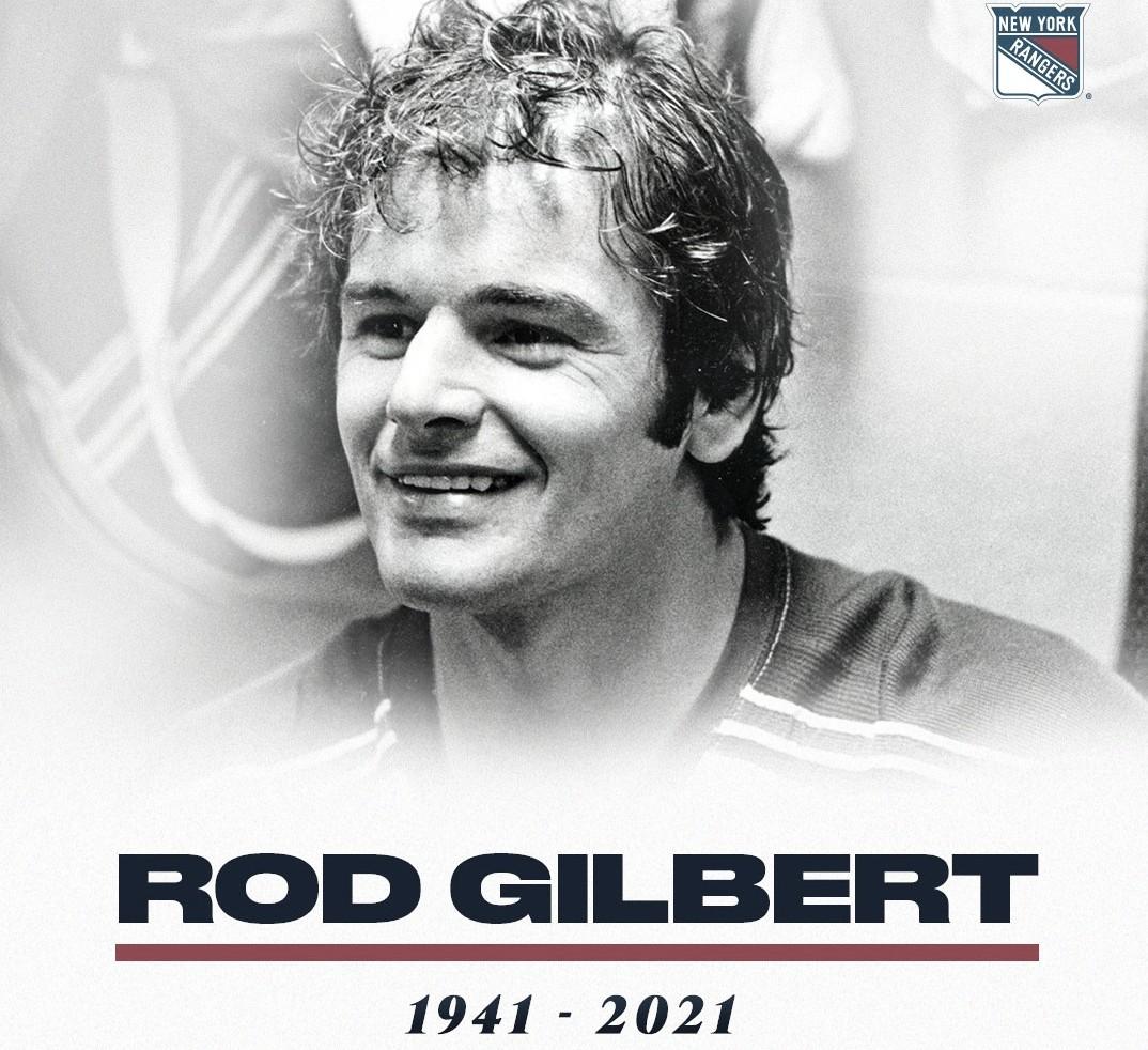 Rod Gilbert fallece a los 80 años