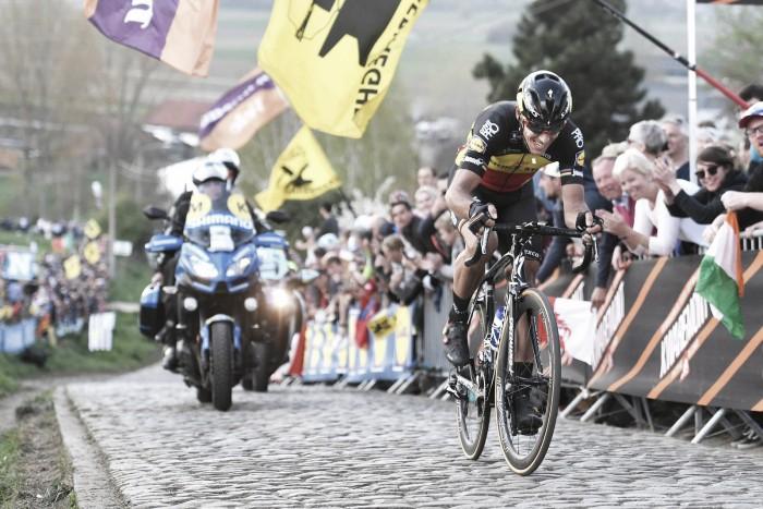 Philippe Gilbert se encumbra en Flandes
