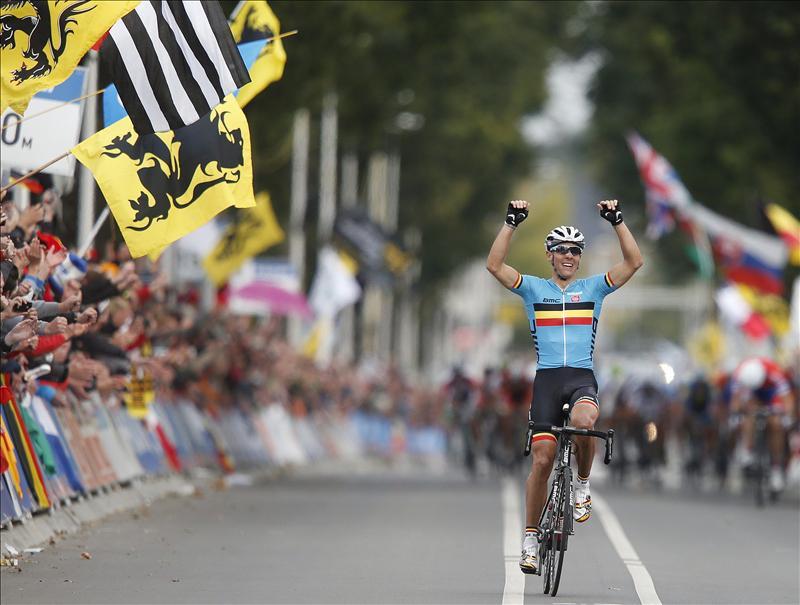 Philippe Gilbert se proclama Campeón del Mundo