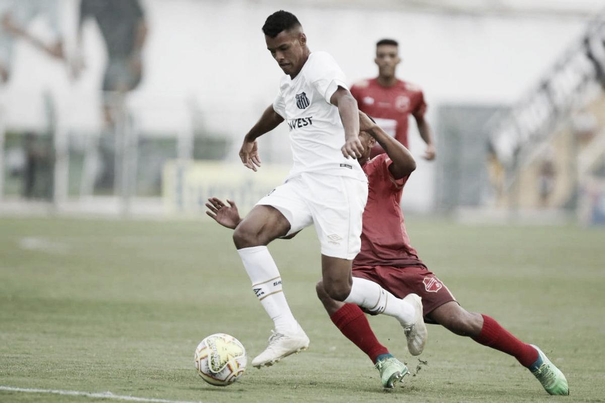 União Mogi segura empate e Santos é eliminado na primeira fase da Copa São Paulo