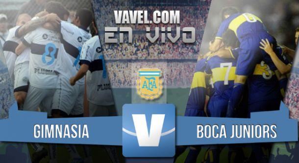 Resultado Gimnasia vs Boca Juniors 2015 (1-2)