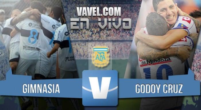 Resultado Gimnasia de La Plata - Godoy Cruz por el Torneo de Transición 2016 (2-2)