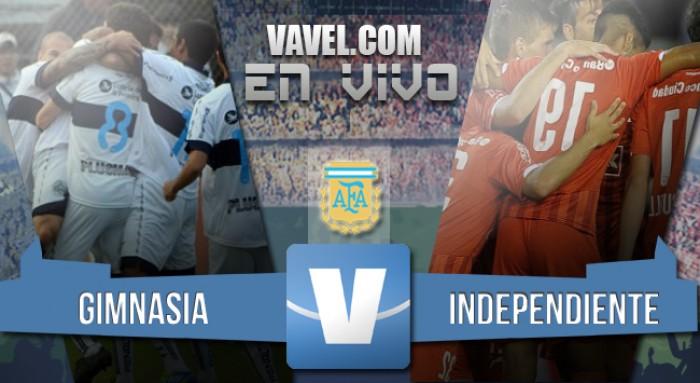 Resumen Gimnasia de La Plata - Independiente en Torneo de Transición 2016