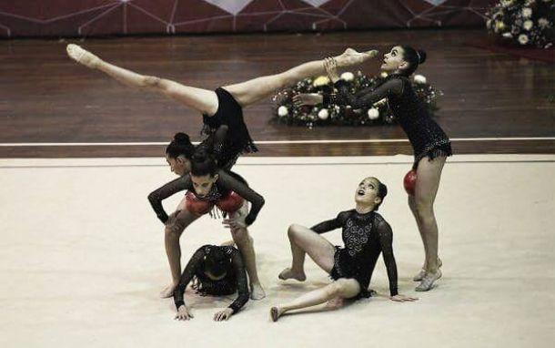 Con once preseas, Aguascalientes domina gimnasia en Olimpiada Nacional