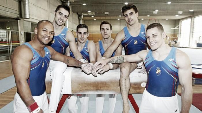 Seis gimnastas españoles buscan la gloria en la Copa del Mundo