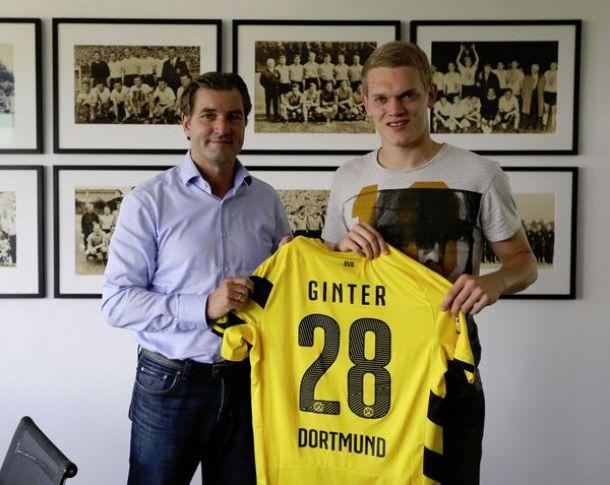 Matthias Ginter joins Borussia Dortmund from SC Freiburg