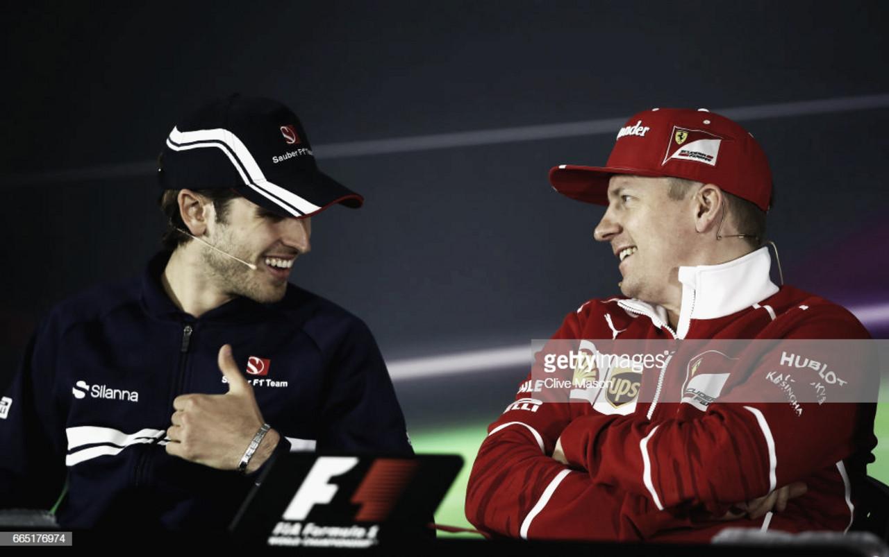 Giovinazzi ve a Raikkonen muy motivado con el proyecto de Sauber
