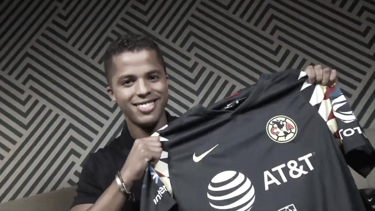 Y la firmó... Giovani Dos Santos es nuevo jugador del América