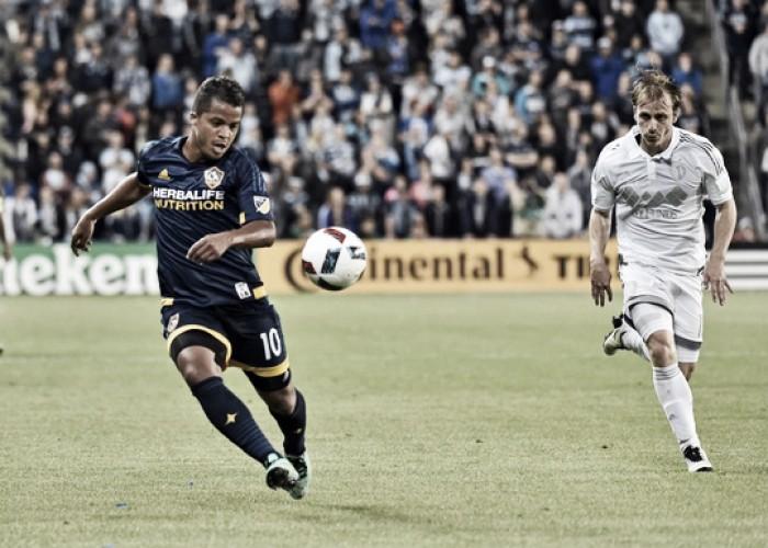 Score Los Angeles Galaxy - Sporting Kansas City in 2016 MLS (0-0)