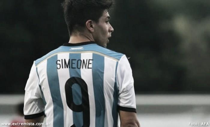 """Simeone: """"Tenemos ganas de ganar una medalla"""""""