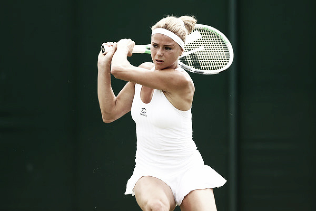 Wimbledon: Camila Giorgi reaches maiden Major quarterfinal with win over Ekaterina Makarova