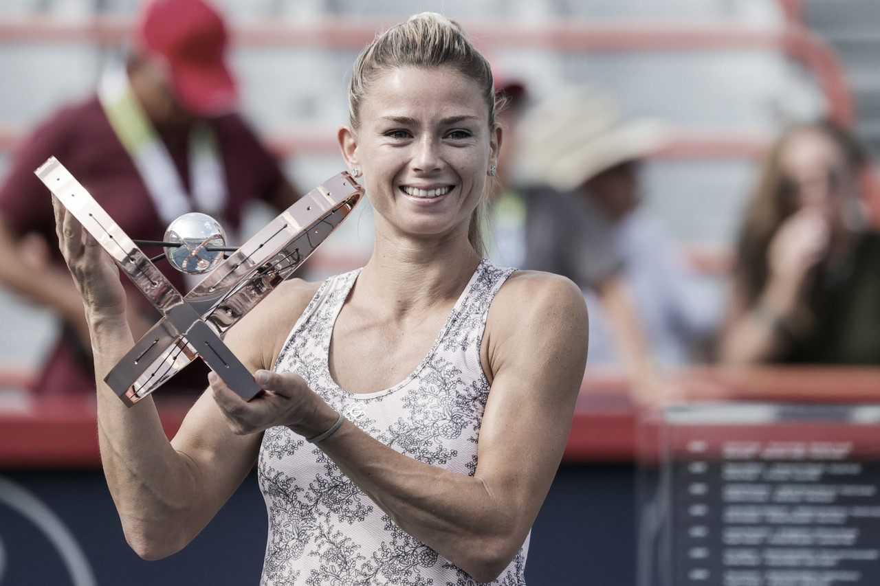 Camila Giorgi sorprende y se lleva su primer gran título al derrotar en la final a la checa Karolina Pliskova en dos sets.