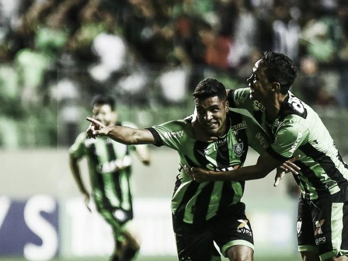 América-MG vence ABC, iguala pontuação do líder Inter e se aproxima do acesso a Série A