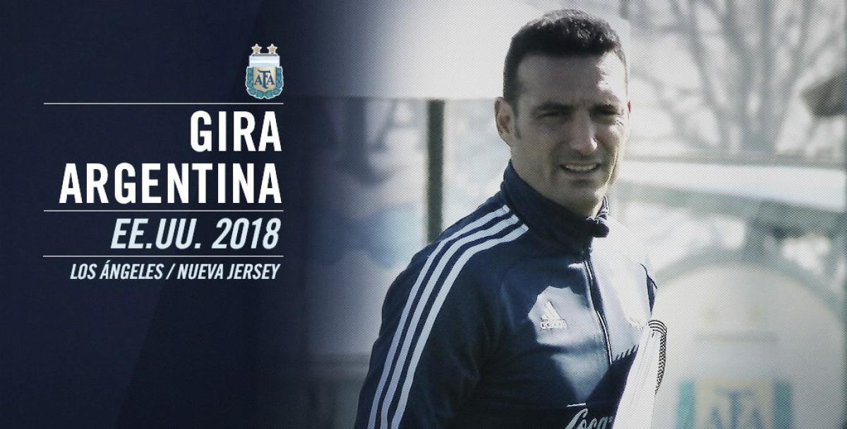 La agenda semanal de la Selección Argentina