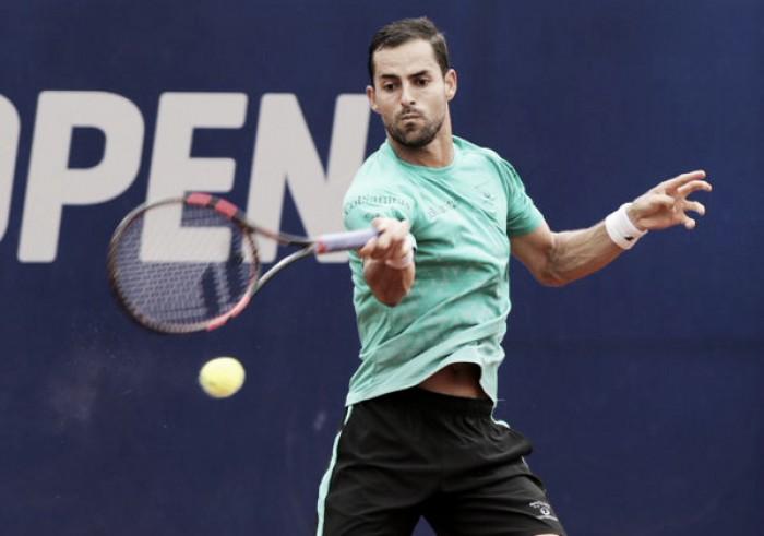 Santiago Giraldo se despidió temprano del ATP de Buenos Aires