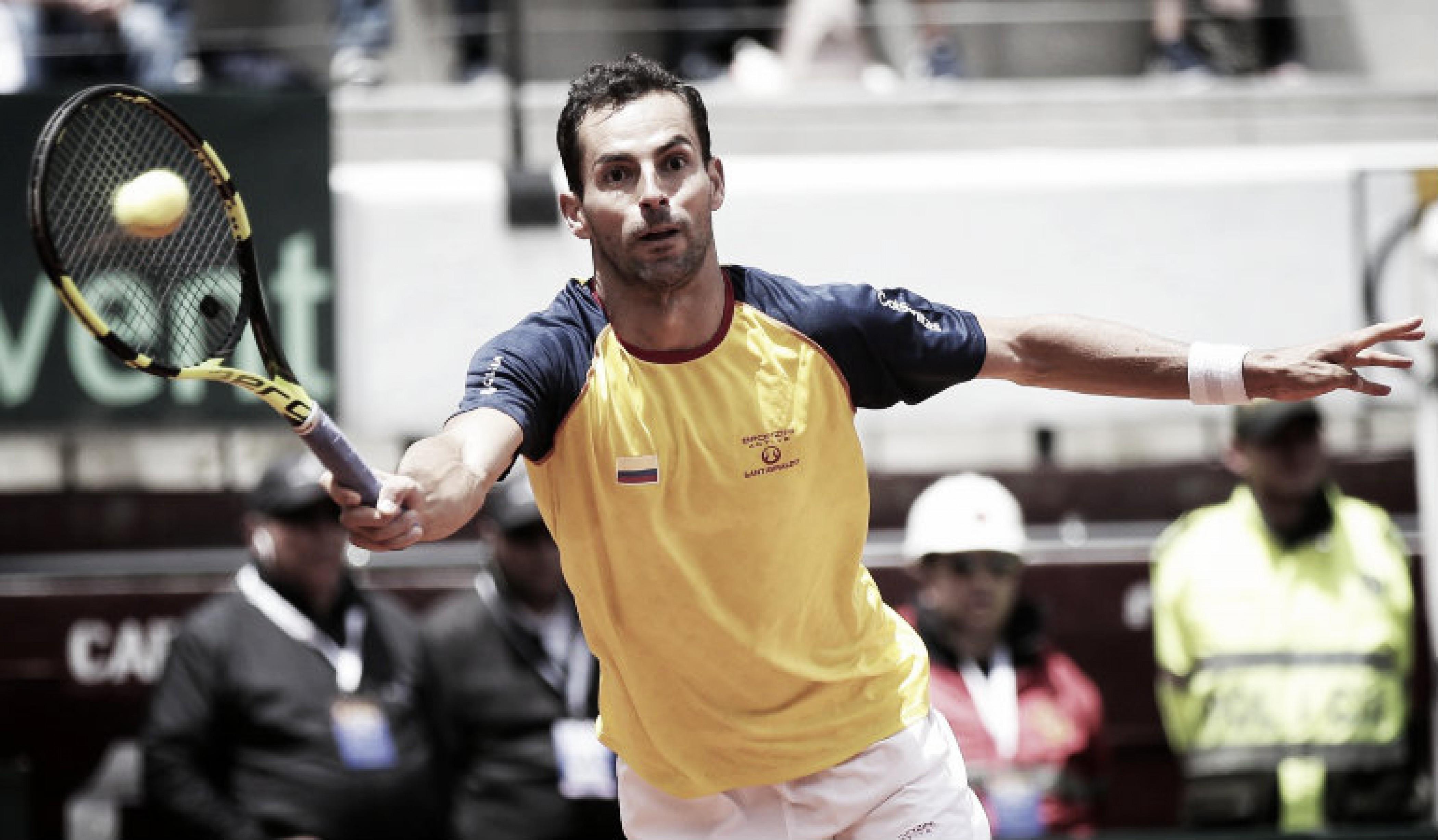 Copa Davis ARG-COL: ¿Quiénes son los colombianos que enfrentará Argentina?