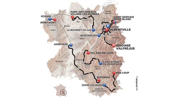 Giro del Delfinato, 6° tappa: si sale ancora, Van Garderen deve difendere la maglia