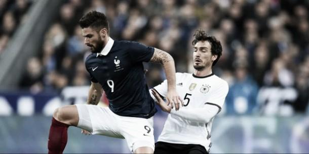 Giroud-Gignac, la Francia surclassa la Germania nell'amichevole di lusso