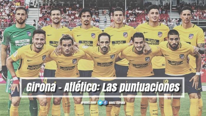 Girona - Atlético de Madrid: puntuaciones del Atleti; Jornada 1 de La Liga