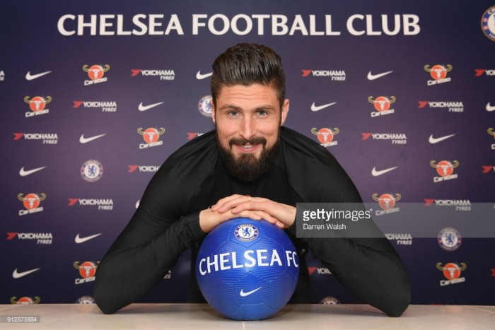 Chelsea complete striker transfer triumvirate with Giroud deal