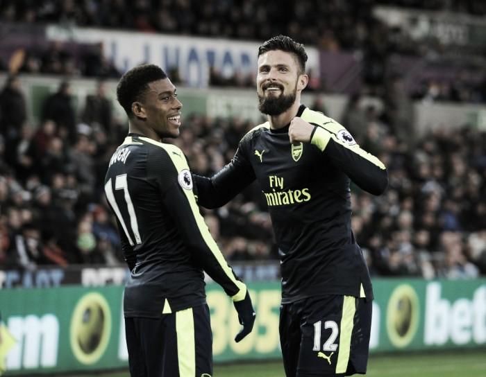 "Giroud: ""La Premier League es mi principal objetivo"""